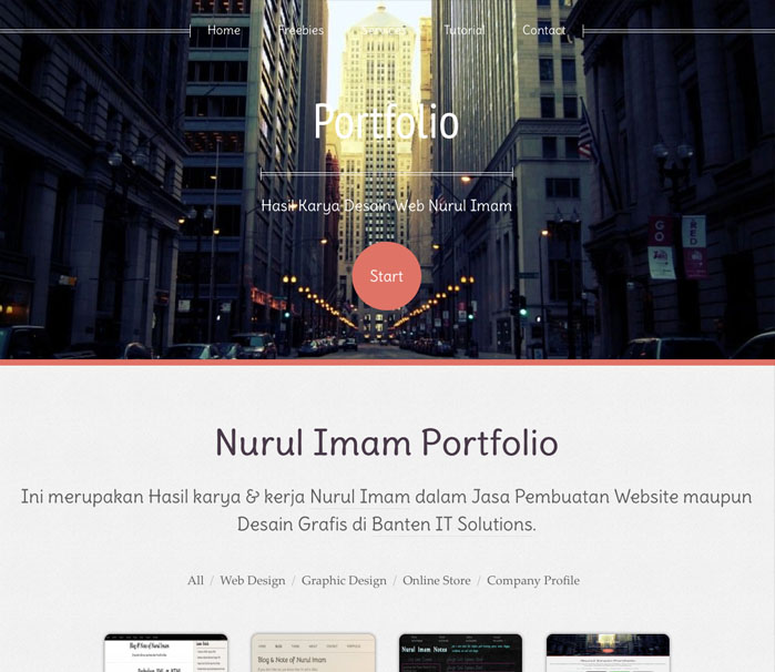 Company Profile WordPress Theme